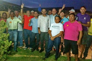 CARLO E CIA 300x199 - Lideranças políticas de São João do Rio do Peixe retiram apoio a Cássio e aderem a Ricardo