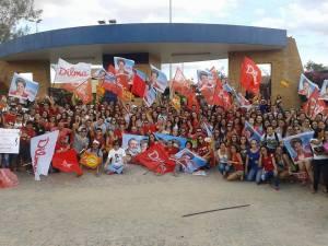 Campus Cuité UFCG 01 300x225 - Comunidade acadêmica do Campus de Cuité realiza ato pró-Dilma