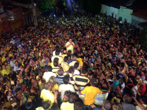 Comício em Cajazeiras 300x225 - Em Cajazeiras, Cássio realiza outro comício gigante e recebe a adesão do ex-prefeito Carlos Rafael