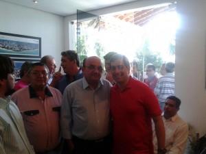 Gervásio na granja 300x225 - Gervásio Maia abre mão de neutralidade e anuncia apoio à reeleição de Ricardo Coutinho