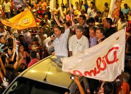 Lucélio Cartaxo participa hoje de comício com Dilma e Lula em Goiana PE