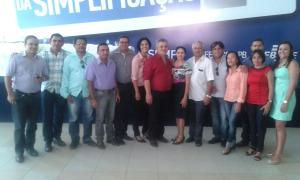 Prefeito Marcelo assessores 300x180 - Prefeito de Alhandra, secretários, assessores e vereadores do município prestigiam evento do Sebrae