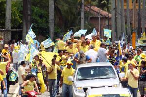 RioTinto 8 300x200 - Cássio inicia em Rio Tinto carreata que fazem nove cidades do Vale do Mamanguape
