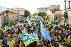 Sertão Lote II 10 300x200 - Sertão vira mar de gente para saudarúltima atividade de campanha de Cássio