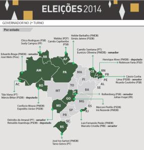 TREZE ESTADOS 287x300 - Volta às urnas: segundo turno em 13 estados e no DF