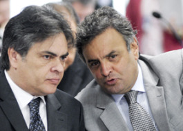 Cássio participa de reunião com Aécio Neves em Brasília para traçar estratégias