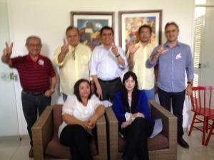 candidatossenado 300x225 - Pesquisa Senado: Maranhão tem 27%, Santiago 19% e Lucélio tem 16% das intenções de votos