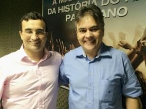 cassio e benja 300x224 - Presidente do Solidariedade na Paraíba ratifica apoio a Cássio no 2º turno das eleições