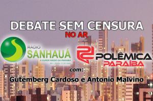 chamadodebate sem censura nova marca2 300x198 - NO AR : DEBATE SEM CENSURA PELA Rádio Sanhauá 1280 AM