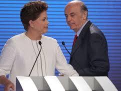 debate record 2010 1 - DEBATE DA RECORD: CONFRONTO DIRETO POR 14 VEZES, SEM PERGUNTAS DE JORNALISTAS, Por Lauro Jardim