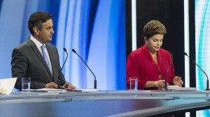 debate record eleicoes 20141 300x168 - Dilma e Aécio estocaram material para debate da Globo - Por Ricardo Noblat