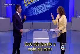 dedo - Quem venceu o debate da Globo?