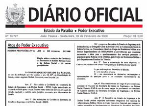 diario oficial - Governo remaneja R$ 4,9 mi para comunicação