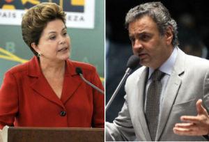dilma aecio 300x204 - TSE suspende propagandas com acusações de Dilma e de Aécio