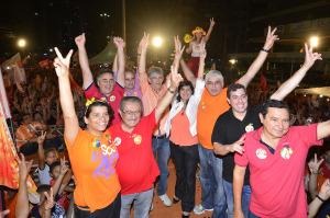 gira 300x199 - Girassoca reúne Ricardo, Lígia, Maranhão, Luciano e Lucélio e arrastam multidão