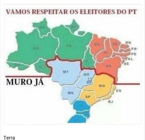 muro 300x289 - DESAFETO DO PT: Romeu Tuma Jr. propõe muro para dividir país em duas partes