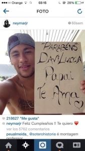 neymar1 169x300 - Foto de Neymar em apoio a Dilma é falsa, diz empresa