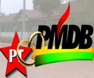 pt alianca pmdb 300x251 - Charliton garante apoio do PT a Ricardo e diz que PMDB deve se unir