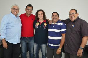 vene r 300x199 - Veneziano atrai apoio de lideranças do PMDB do Vale do Mamanguape à reeleição de Ricardo