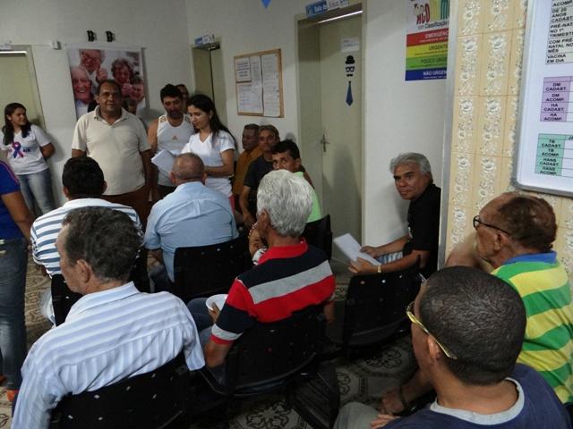 1 - Novembro Azul: UBS Carleusa Candeia e Osman Ayres em campanha
