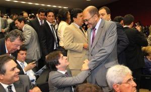 Pedro bsb 300x183 - Deputado eleito, Pedro Cunha Lima estreia em Brasília em reunião do PSDB