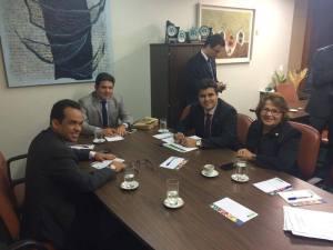 Reunião ocorreu em Brasília
