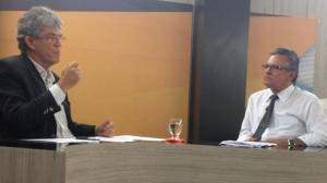 foto1 14112014053901 300x168 - No Politicando de hoje, da TV Master, Ricardo Coutinho conta passagens inéditas de sua vida a Tião Lucena