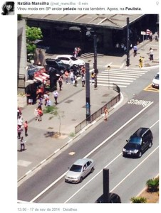pelado620 226x300 - PELADO NA RUA VIROU MODA: Homem é flagrado andando pelado pela Avenida Paulista
