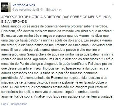 promotor de sousa versão - Caso do Campestre: Promotor dá sua versão da discussão através de publicações nas mídias sociais