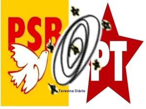 pt e psb 300x225 - Presidente do PT revela reunião e garante manter dissidentes em torno da aliança com PSB