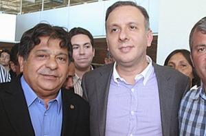 ricardo e aguinaldo 300x198 - Aguinaldo Ribeiro defende a recondução de Ricardo Marcelo à presidência da Assembléia