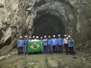 tuneo 300x224 - Obras da Transposição avançam e túnel de mais de 15 quilômetros de extensão teve sua perfuração concluída