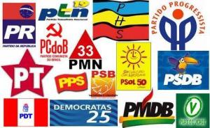 partidos politicos2 300x184 - GILVAN VIDENTE: Vereadores da capital trocam de partidos como quem troca de cueca
