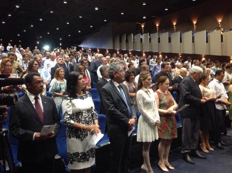 Ato ecumênico marca o inicio das festividades de posse do governador Ricardo Coutinho para mais um mandato