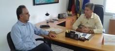 Presidente da Companhia Docas faz visita ao prefeito de Cabedelo