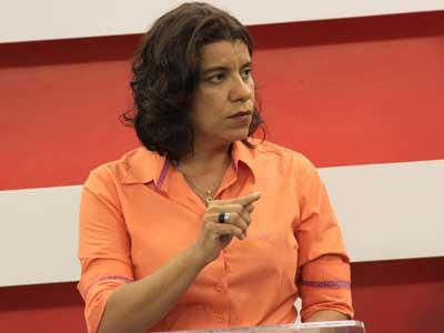 """VÍDEO: """"Nunca teve credibilidade e não pode perder o que não tem"""", dispara deputada em relação ao PSDB"""