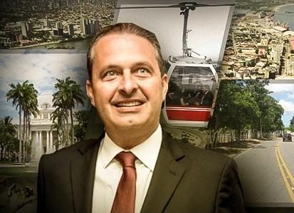 A cada mês, PE tem uma obra batizada com o nome de Eduardo Campos