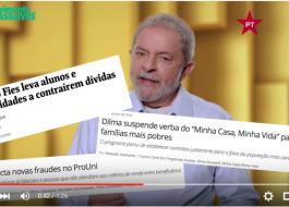 VEJA VÍDEO: Vídeo de Lula ganha versão sarcástica do Movimento Brasil Livre