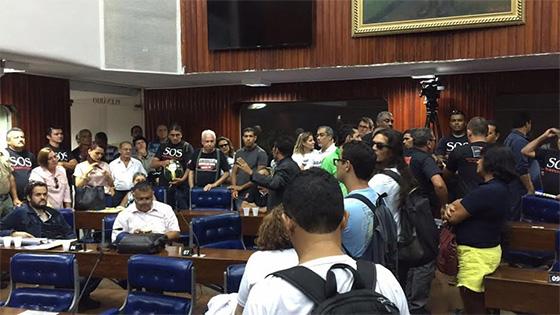 MP 242: Servidores públicos vão à Assembleia Legislativa nesta terça