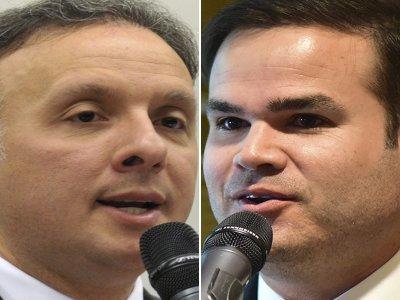 aguinaldo e cacá - PP define o novo líder do partido na Câmara Federal; assista entrevista do vencedor