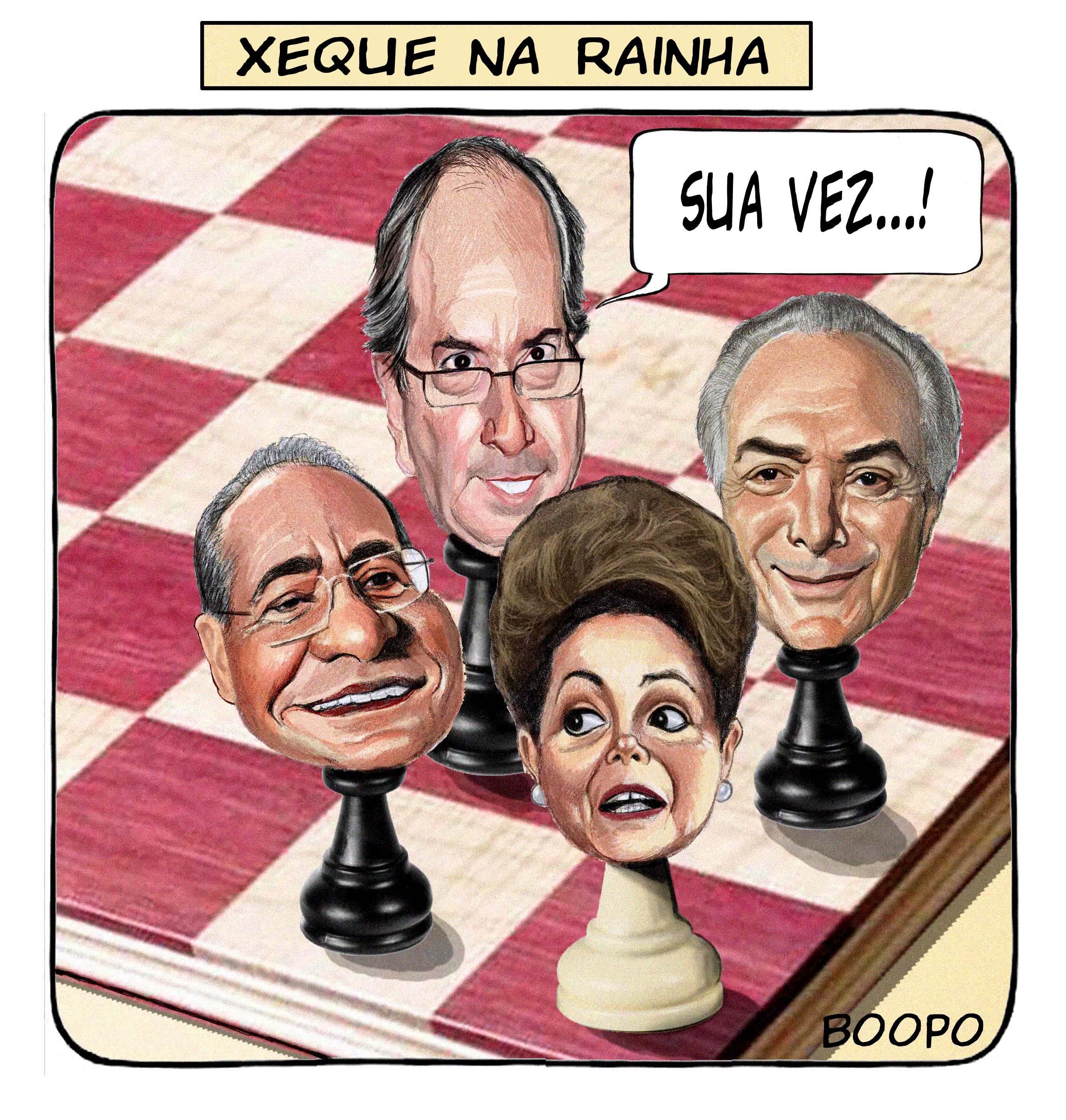 XADREZ DA CASSAÇÃO:  Operação derruba chapa procura pressionar o TSE pra cassar Dilma – Por André Singer