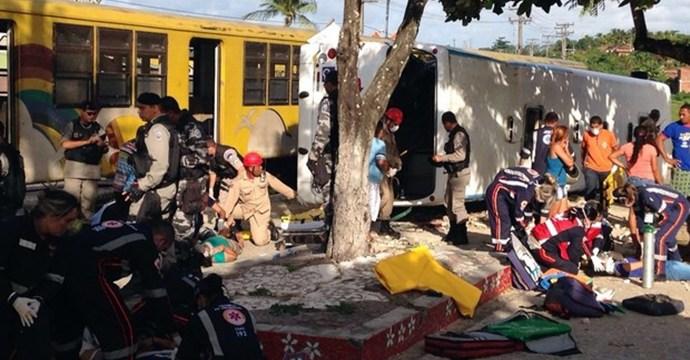 CBTU anuncia sindicância para apurar colisão entre trem e ônibus em Santa Rita