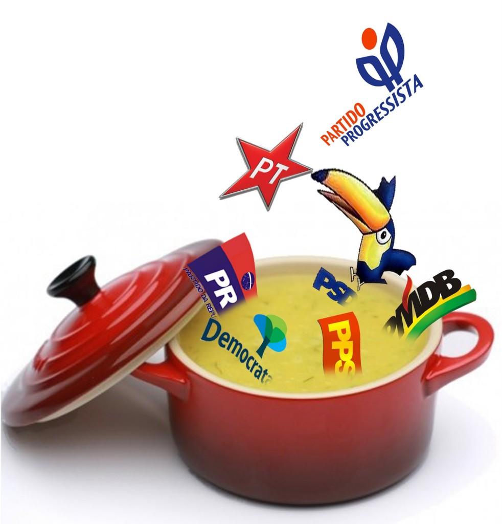troca troca partidos políticos 982x1024 - Mais de 40 deputados federais trocam de partido em uma semana
