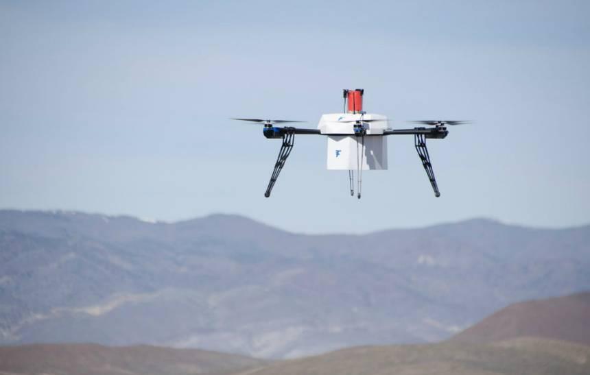 Primeira entrega realizada por drone autônomo acontece nos EUA