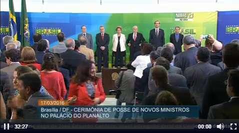Posse de Lula1 - Lula toma posse em cerimônia coletiva no Palácio do Planalto