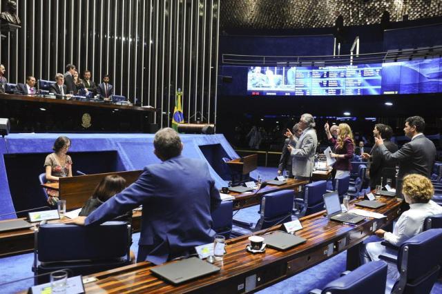 Placar parcial da comissão do impeachment no Senado: 14 a favor 5 contra e 2 indecisos