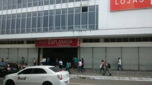 Crise faz Lojas Esplanadas fecharem as portas na Paraíba e surpreende clientes