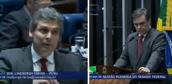 lindenberg cássio - DOIS PARAIBANOS: Partidos indicam nomes para comissão do impeachment no Senado