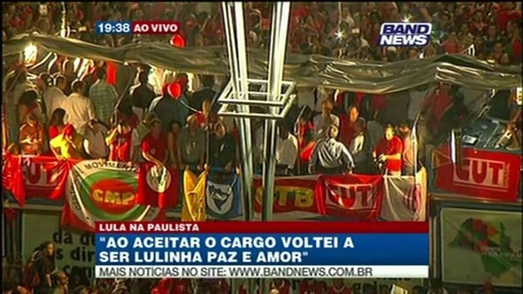 O discurso de Lula para a multidão na Avenida Paulista. VEJA VÍDEO