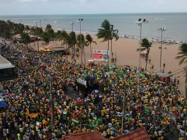Manifestações contra Dilma e PT em todo o país batem recordes de público